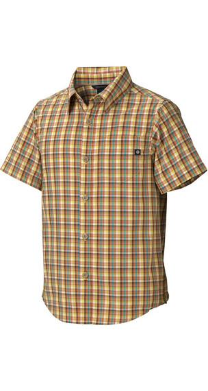 Marmot Boy's Lodi SS Radiant Yellow (9356)